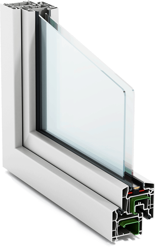 double glazing layers
