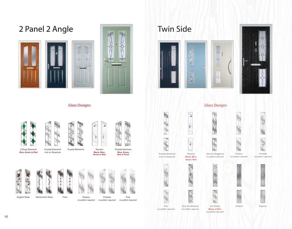 twin side composite door