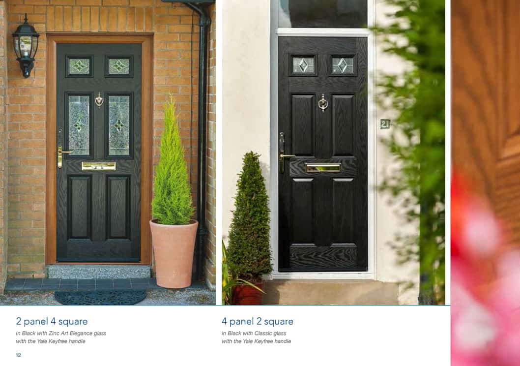 Composite Doors | Front & Rear | Lancashire Double Glazing