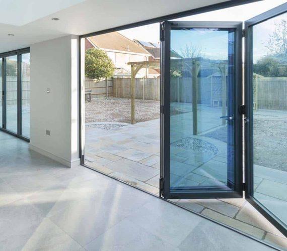 Aluminium Bi-fold doors lancashire