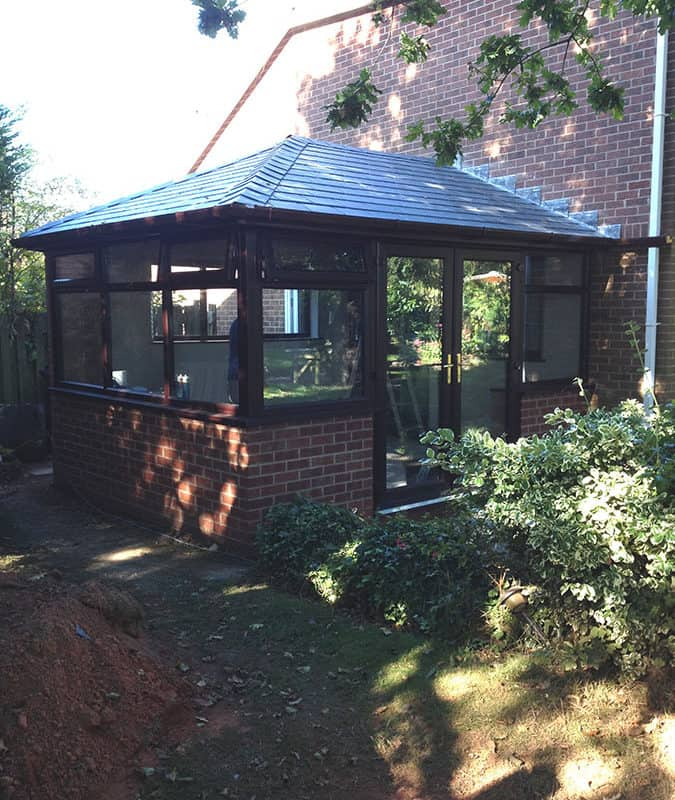 Bespoke Conservatory Roof Conversion FY8