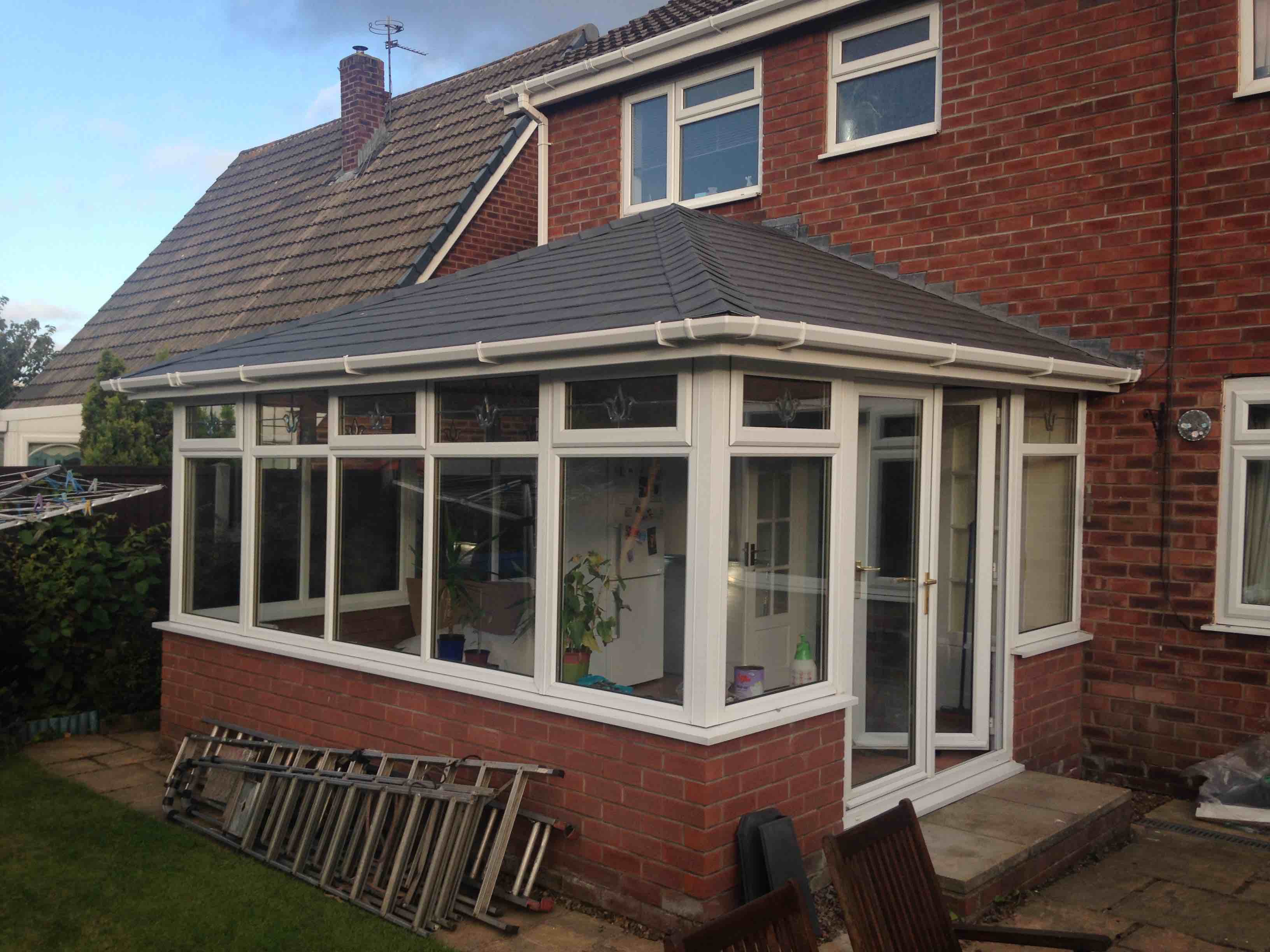 conservatory with warm roof