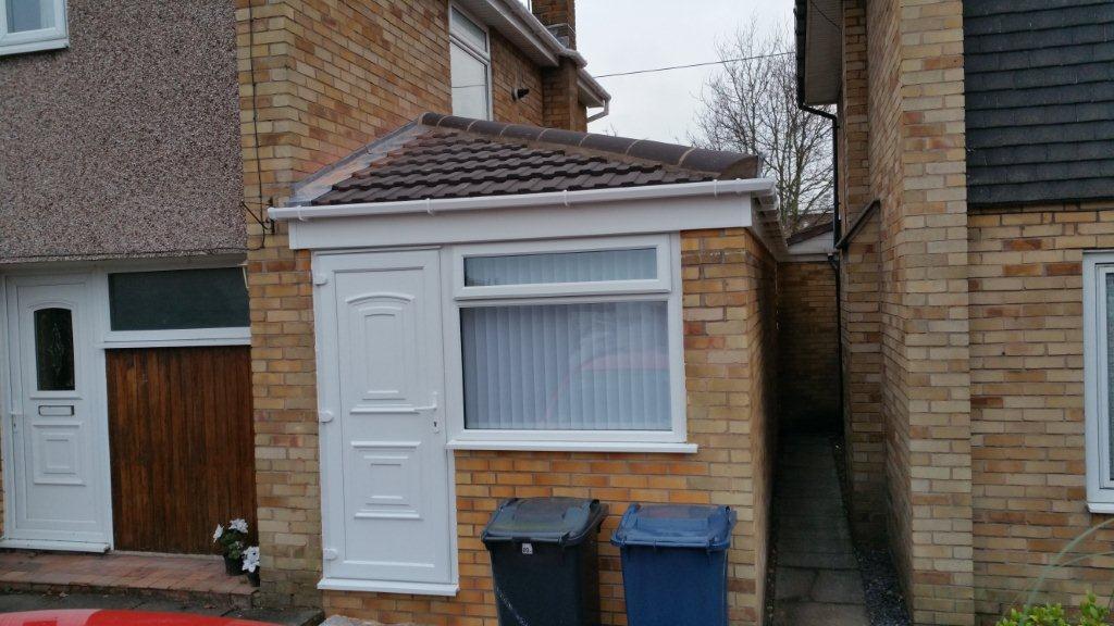 Bespoke Garage Conversion Bb2 Lancashire Double Glazing
