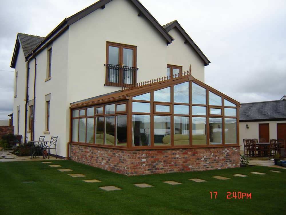 bespoke conservatory after