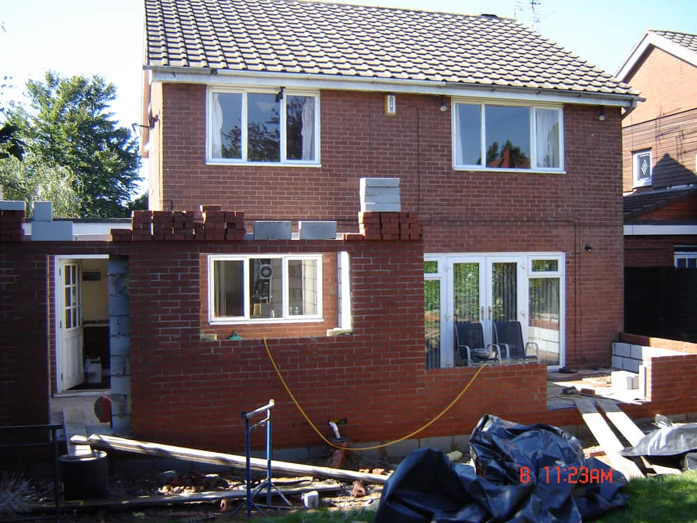 extension and conservatory project