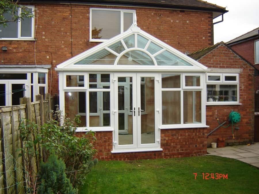 conservatory added
