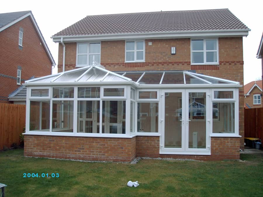 conservatory extended