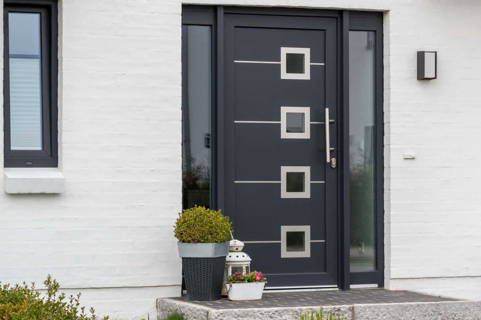 4 square compsite door