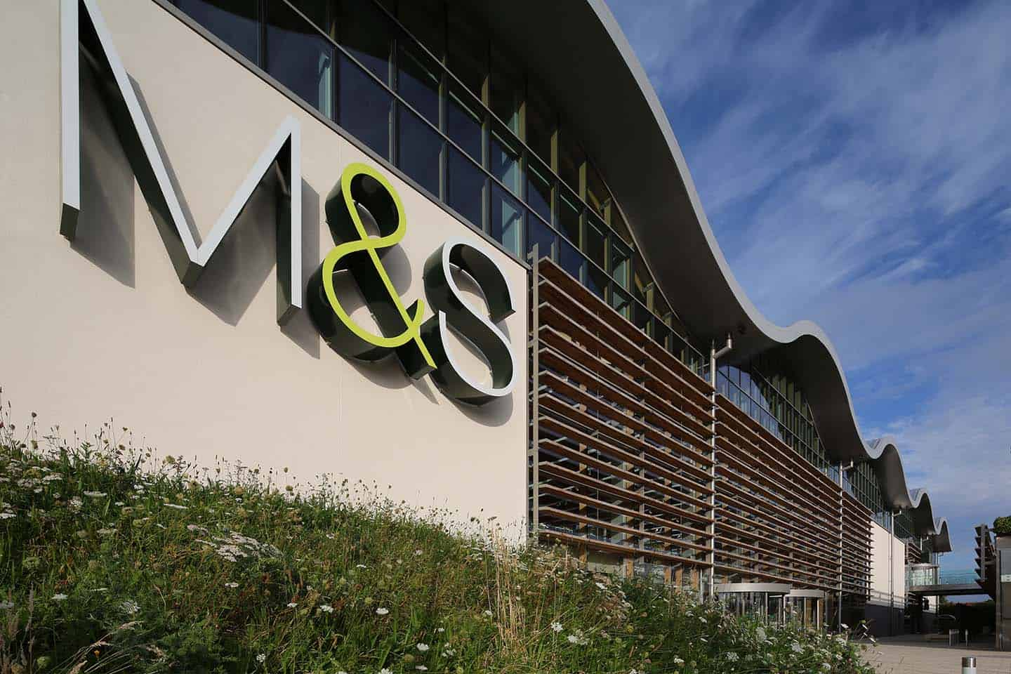 m&s commercial glazing project