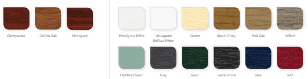 Window Frame Colour Options