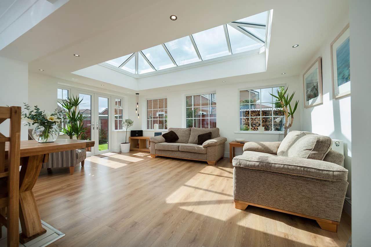 large modern conservatory