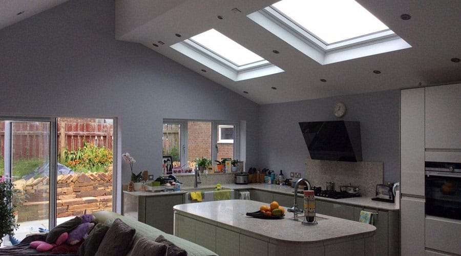 Bespoke kitchen extension lancashire