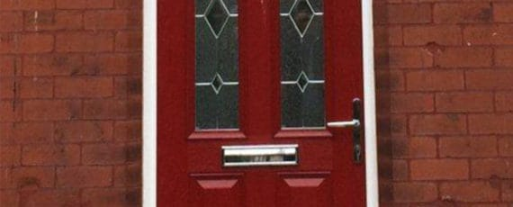 red composite doors lancashire