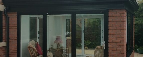 black orangery extension