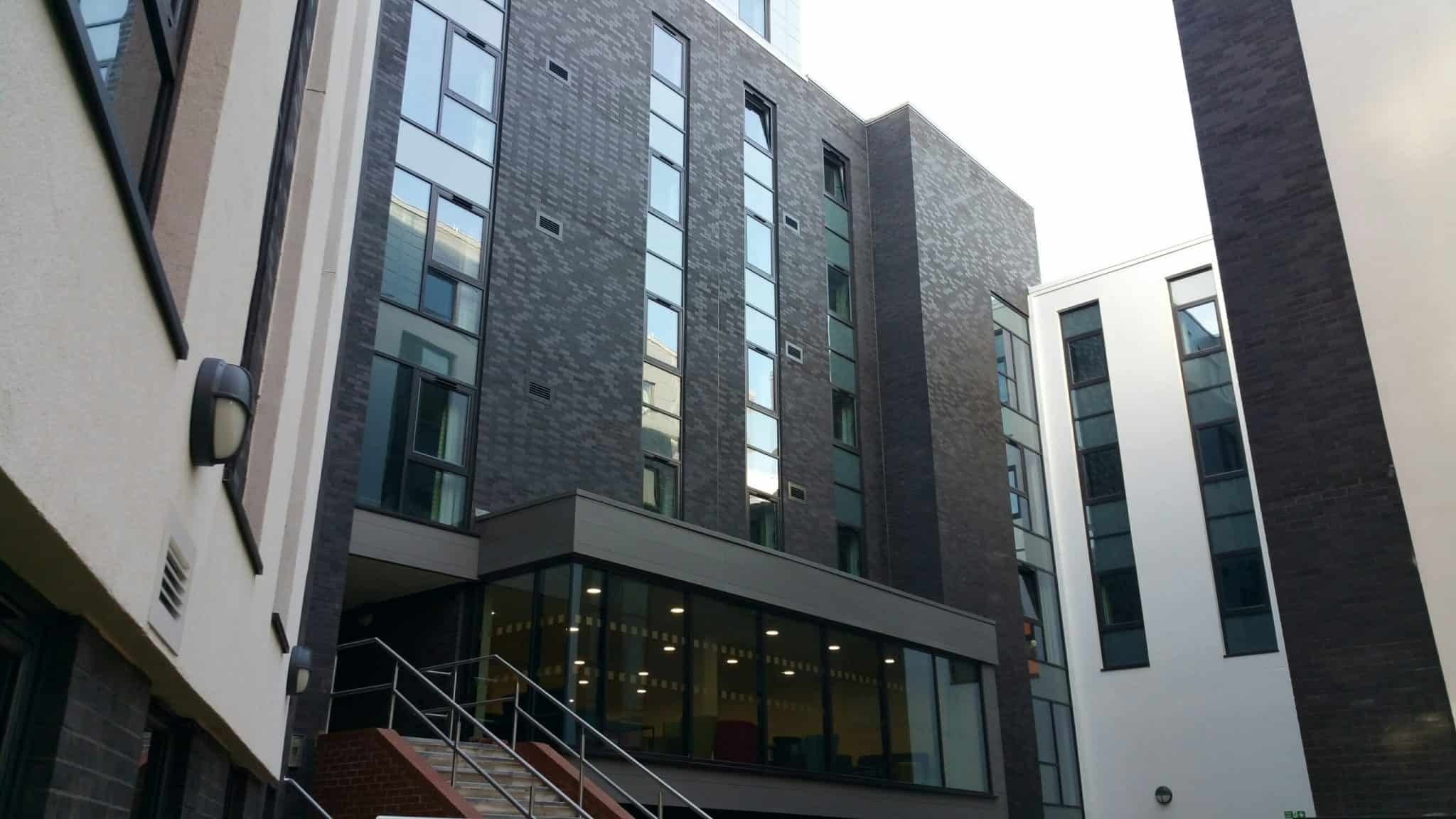 large windows for first class accomodation site