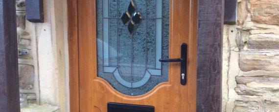 curved 2 panel door