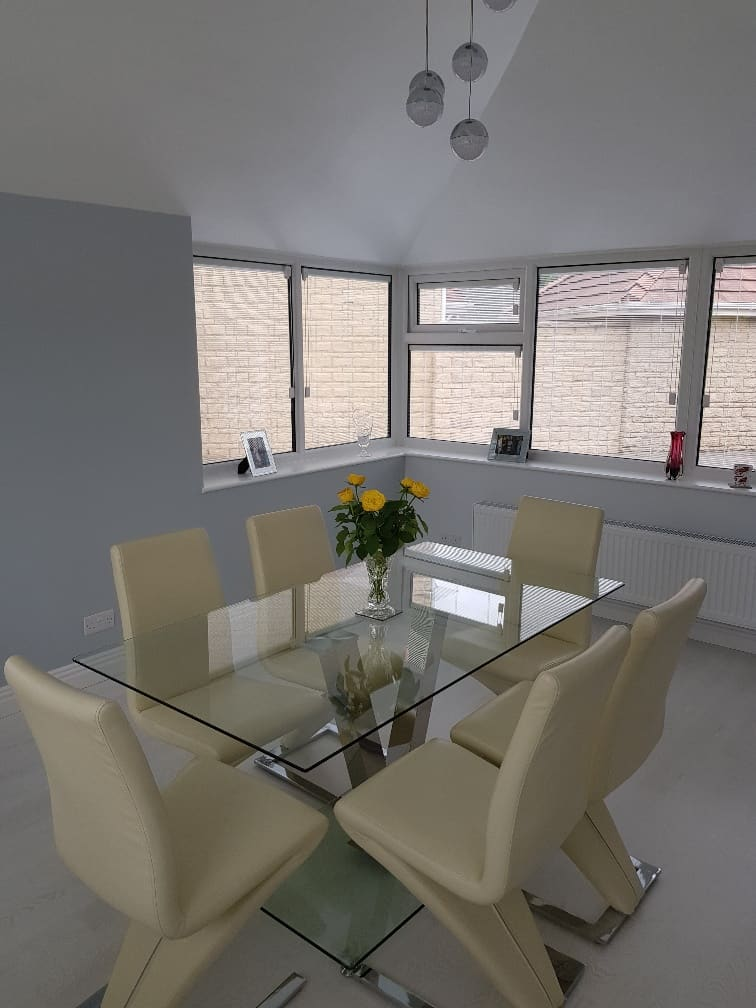 UPVC windows for extension