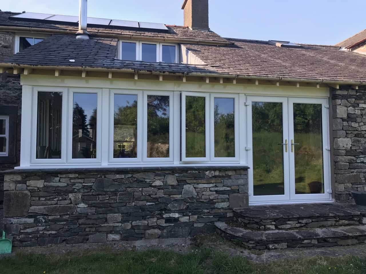 new UPVC windows and patio doors