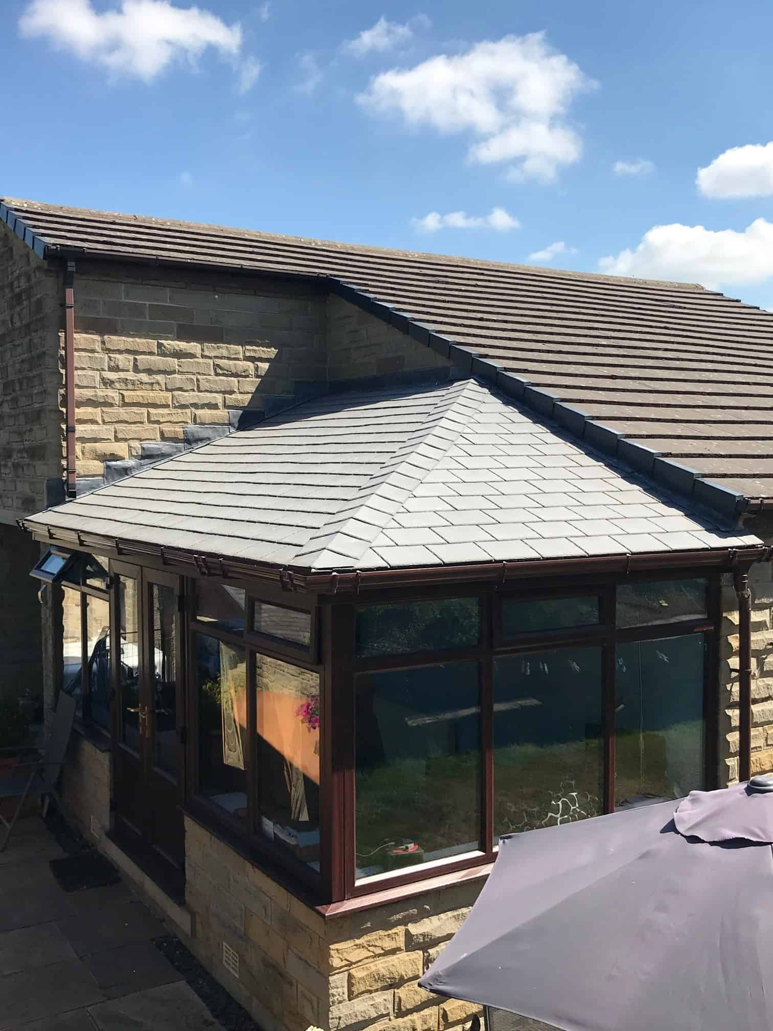 warm roof conservatory