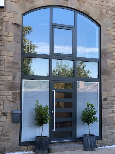 contemporary composite door