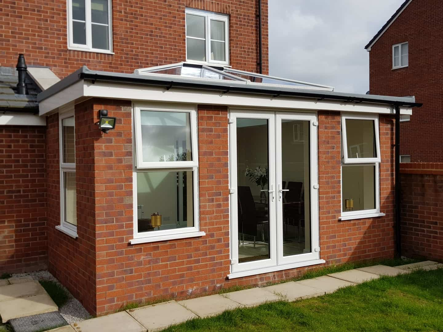 new UPVC extension