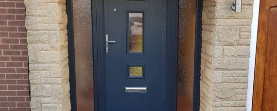 new composite door entrance