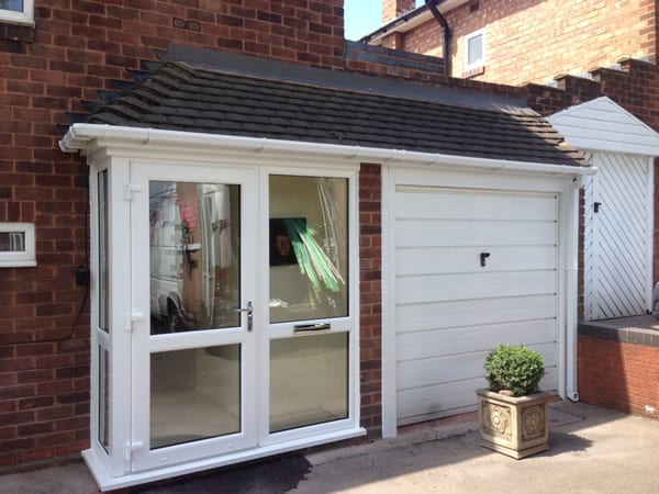 small porch extension