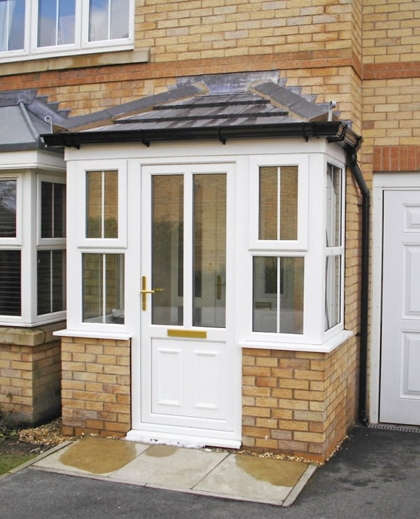 new UPVC porch