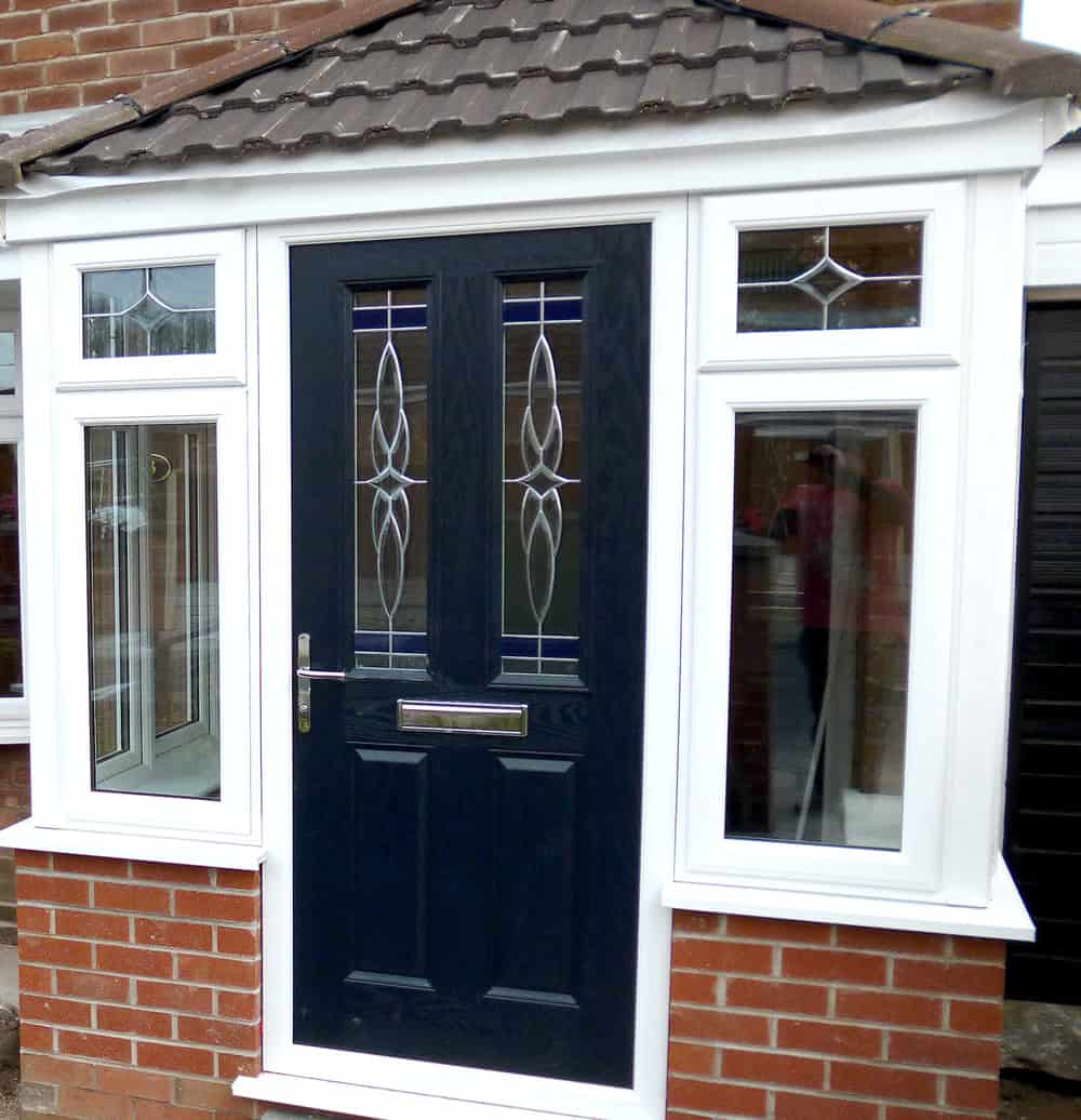 UPVC porch extension