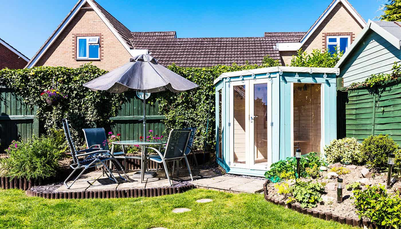 Affordable Garden lodge shed
