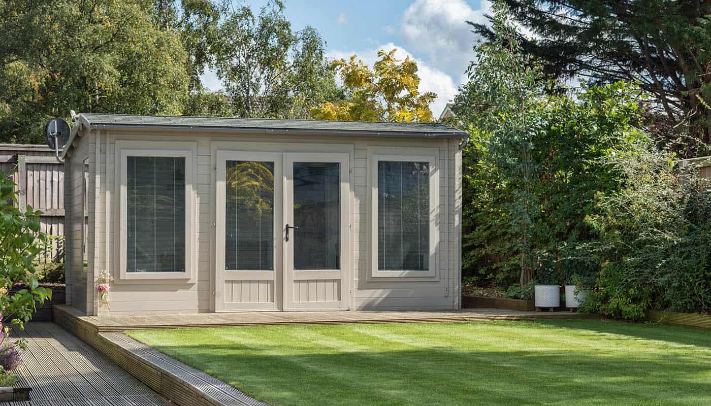 Garden Cabin Office Lancashire