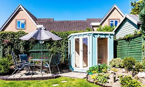 Garden Summerhouse Lodge