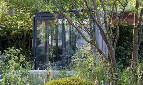 Glazed Garden Office Shed